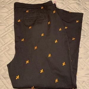 Modcloth Legendary Lifestyle Pants in Bees